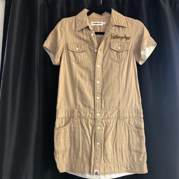 38bf0afb Bape Dresses | Khaki Girl Scout Dress | Poshmark